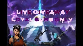 LIVE GIVEAWAY!!!! FORTNITE SAVE THE WORLD