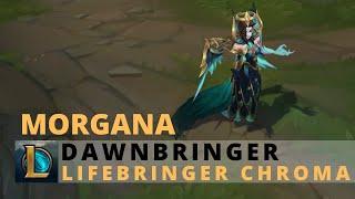 Dawnbringer Morgana Lifebringer Chroma - League of Legends