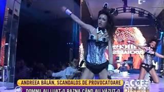 Andreea Balan, imbracata scandalos de provocator!