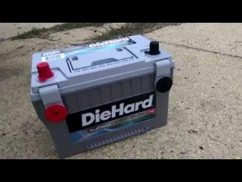 89 Cherokee DieHard Platinum AGM Battery Upgrade