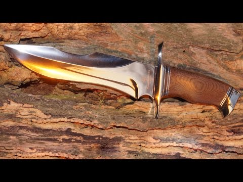 Böker Magnum Collection Knife 2012 Bill Luckett Fighter Bowie  Jahresmesser Sammler
