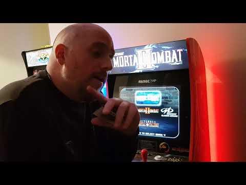 Mortal kombat Arcade1up Review UK from Retro Gaming And Arcade UK