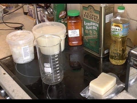 Изготовление мыла.  Часть 1.   Ингредиенты и оборудование.