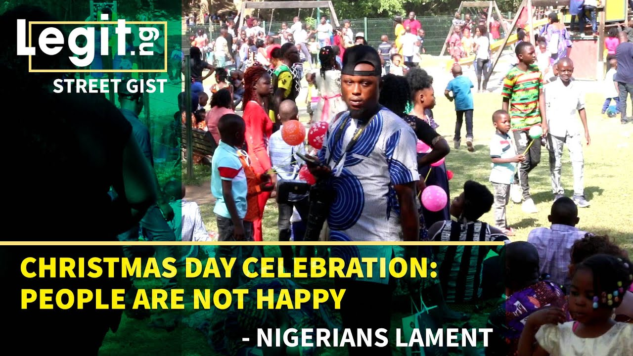 Christmas Day Celebration: People are not happy - Nigerians lament | Legit TV