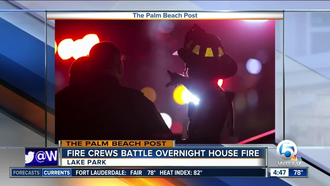 Fire Damages Lake Park Home