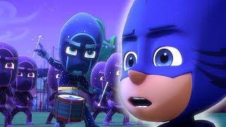 Герои в масках - Бей в барабан, Кэтбой - мультики для детей