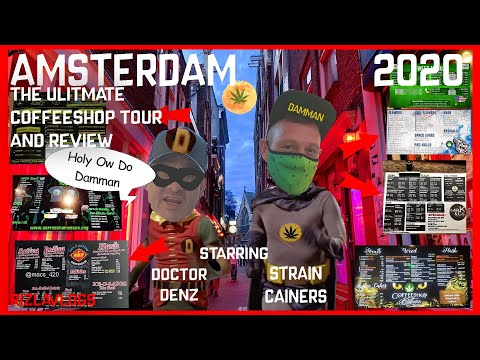 AMSTERDAM After LOCKDOWN (2020 Coffeeshop Tour and Review) The Return To Dam Vlog