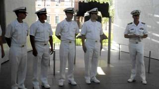 Max Commissioning  as Navy Ensign part 1