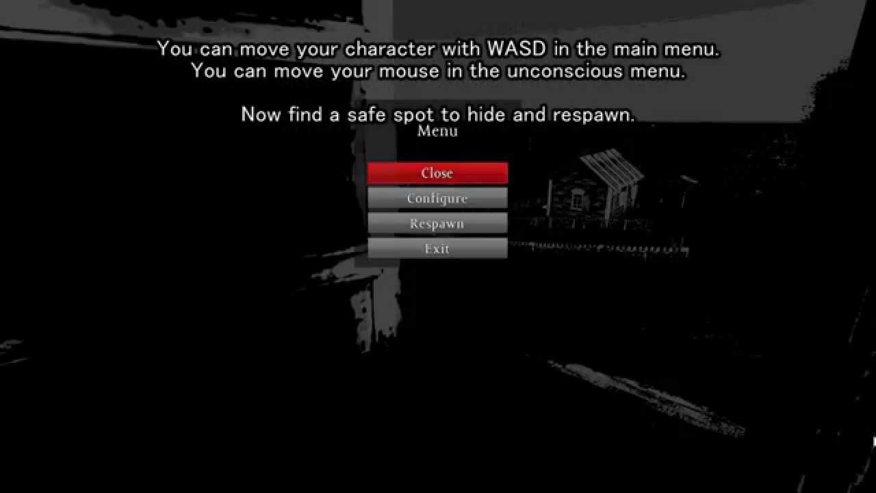 dayz standalone  what to do when stuck in unconscious