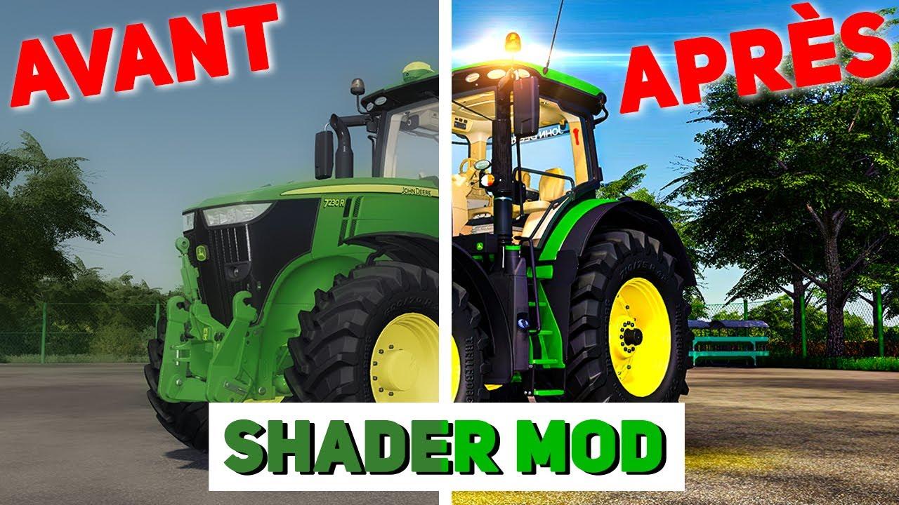 Download Améliorer les GRAPHISMES de Farming Simulator 19 avec un RESHADE (SHADER).
