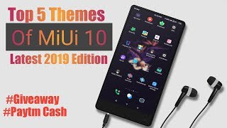 Top 3 best themes for march 2019 any xiaomi smartphones most