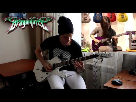 DragonForce - Heroes Of Our Time Guitar cover