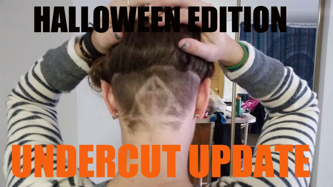 Undercut Update Deathly Hallows Harry Potter Undercut Design Youtube
