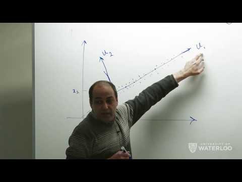 Ali Ghodsi, Lec 1: Principal Component Analysis