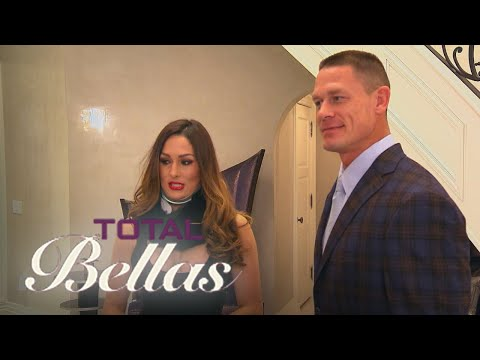 Nikki Bella & John Cena Throw a Formal Family Dinner | Total Bellas | E!