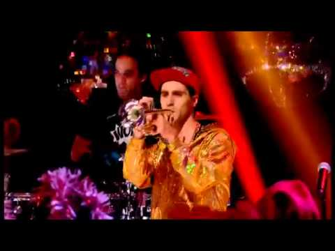 Sam and the Womp Bom Bom Top of the Pops Christmas 25th December 2012