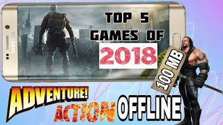 Top 5 Offline Android Games Under 100 MB Download Must Watch 2018