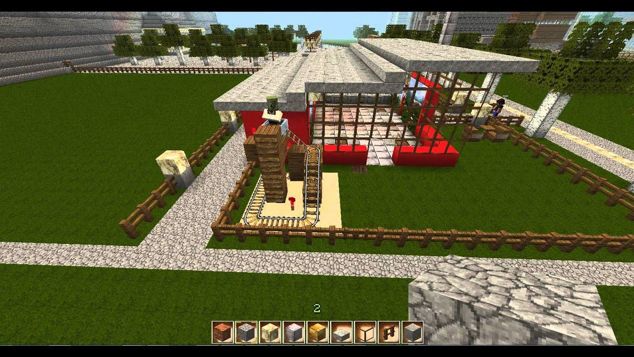 MinecraftRestaurant Zur Goldenen MöweDorfbewohner In Lore YouTube - Minecraft dorfbewohner bauen hauser mod