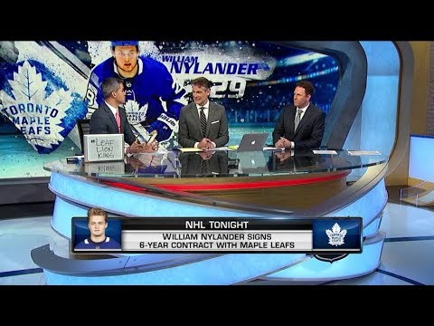 NHL Tonight: Discussing  William Nylander`s return to Toronto  Dec 3,  2018