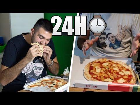 MANGIO PER 24 ORE SOLO PIZZA NAPOLETANA!!!
