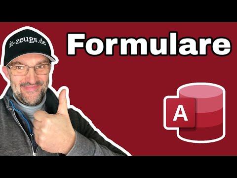 Access 2016: So Erstellst Du Formulare Für Tabellen Oder Menüs