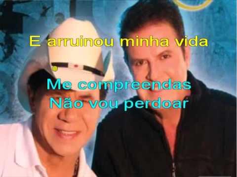 Arrependida - Matão e Monteiro - karaoke