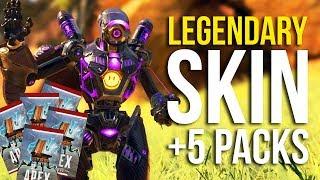 Free Legendary Skin + 5 Free Apex Packs in Apex Legends