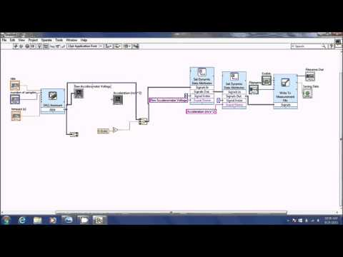Measurements I - Using Accelerometers in LabView