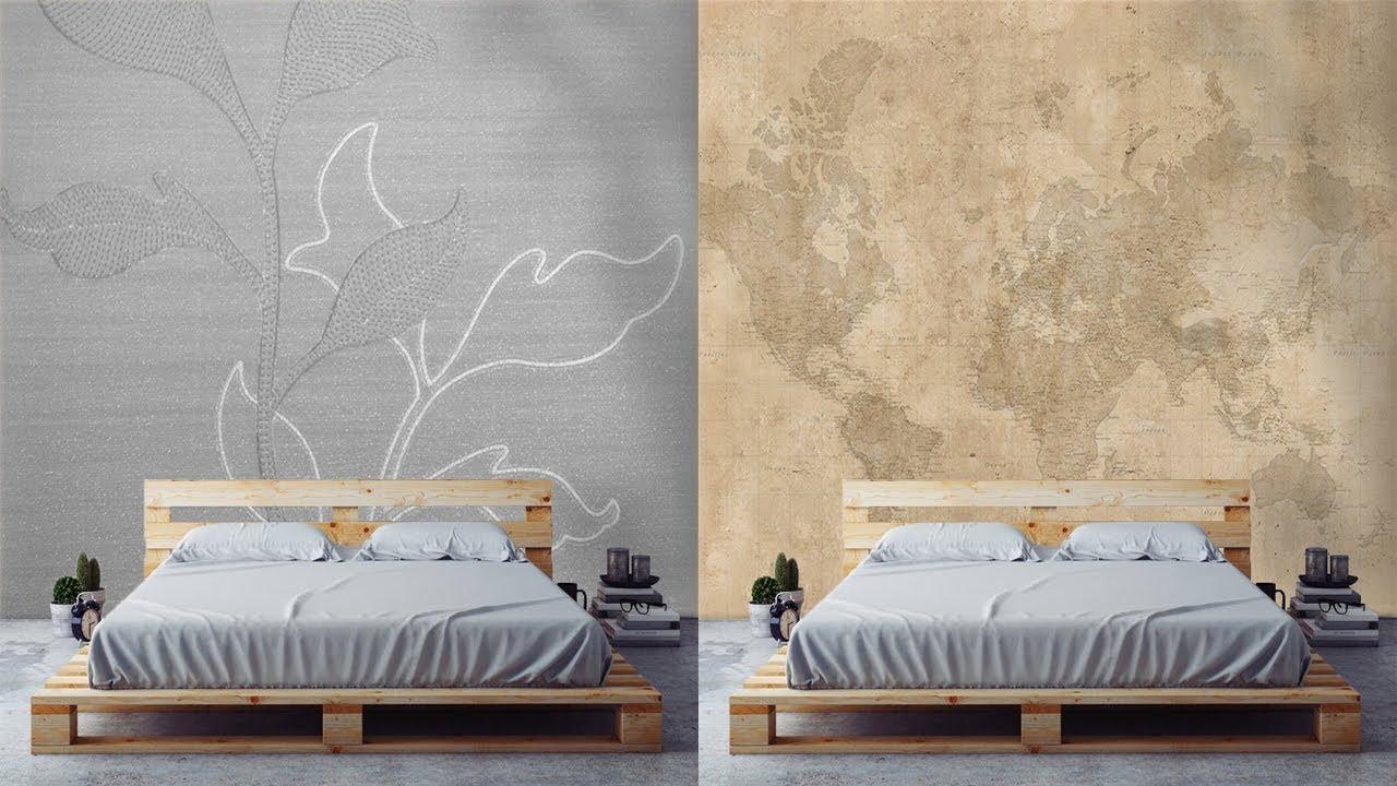 25 Inspirasi Wallpaper Dinding Kamar Tidur Masa Kini
