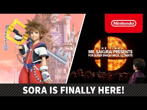 Super Smash Bros.™ Ultimate – Battling with Sora – Nintendo Switch