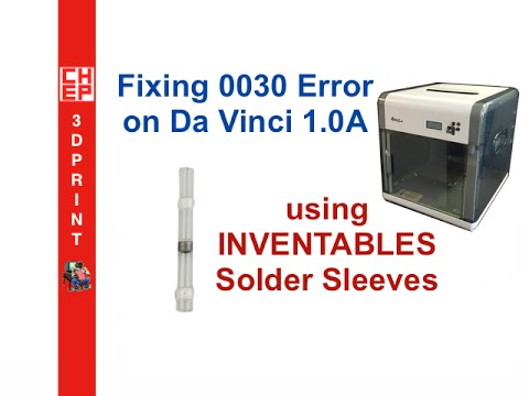 hqdefault fixing the da vinci 1 0a 0030 error using inventables solder  at mifinder.co