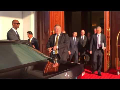 North Korea calls talks 'troubling' as Mike Pompeo sees 'progress'