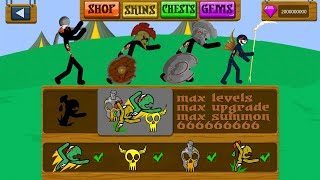 Stick War Legacy | MOD Items Hack Speed Summon Spearton And Archer | Stick War Legacy Fight