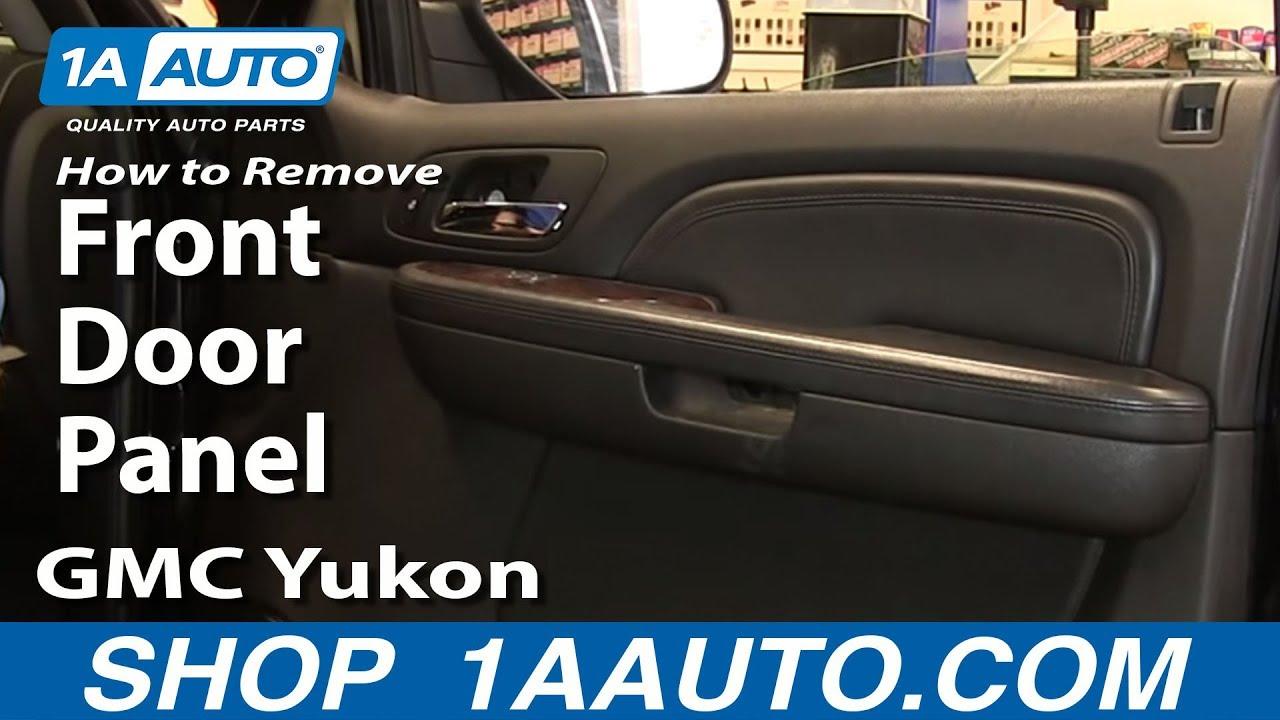 How To Install Remove Front Door Panel 0713 Silverado
