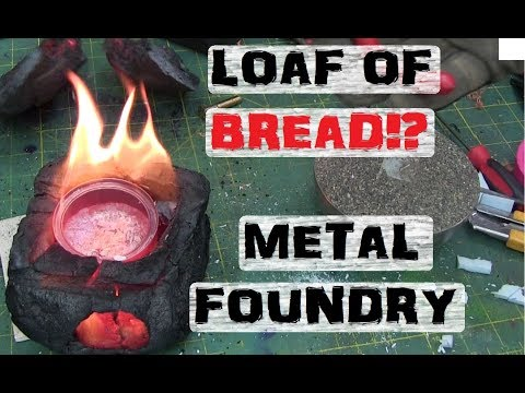 Pyrolized Bread Metal Casting Foundry.