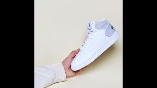 Кроссовки Adidas Hoops Mens Mid Top Trainers