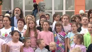 Грудинина мы не предадим | жители Совхоза имени Ленина спели Гимн Народного Единства