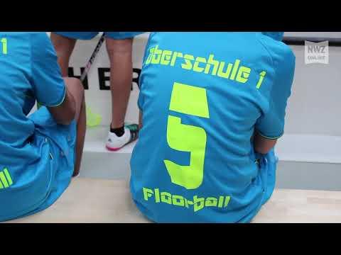 Floorball der Oberschule 1 in Nordenham