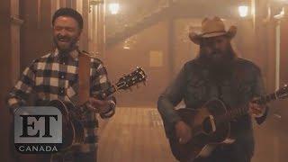 Reaction To Justin Timberlakes 'Say Something' with Chris Stapleton
