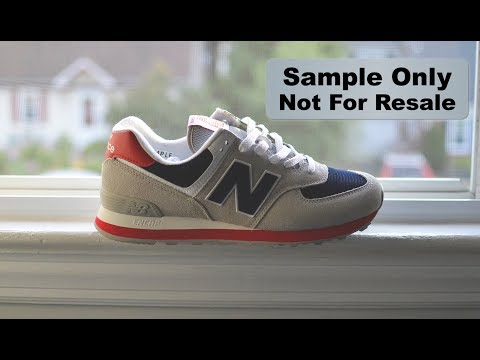 New Balance 574 Samples - Are they Rare? | Quick Chat About Sneaker Samples!