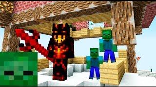 Декартион в доме Царя мороза #4 Зомби Апокалипсис В Майнкрафт