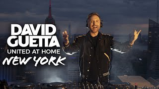 David Guetta | United at Home - Fundraising Live from NYC #UnitedatHome #StayHome #WithMe