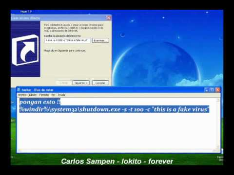 como crear un hacker -Carlos Sampen-loko-forever