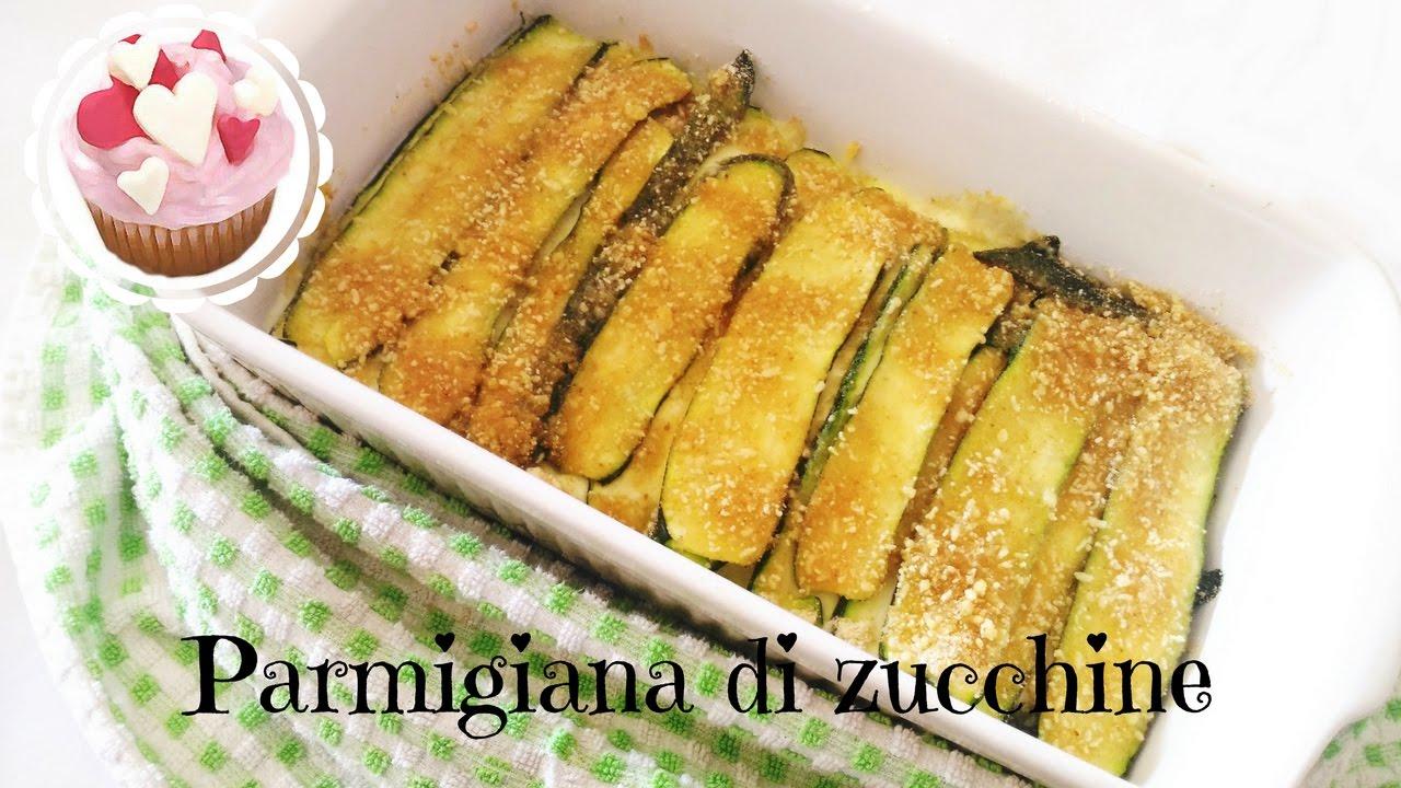 Parmigiana bianca di zucchine senza frittura secondi for Secondi piatti ricette