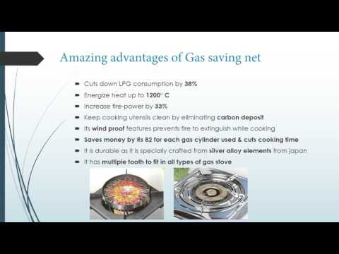 Gas saving net (for sale in Mauritius)