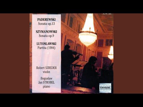 Sonata for Violin and Piano in D Minor, Op. 9: I. Allegro moderato - Patetico