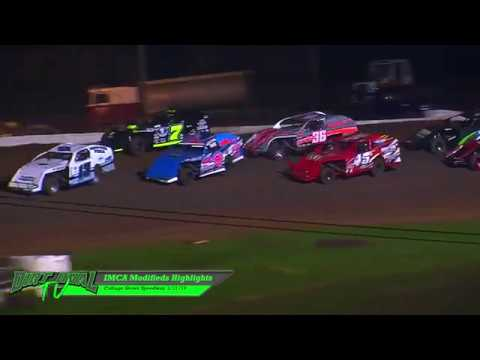 IMCA Modifieds Highlights Cottage Grove Speedway 3 31 18