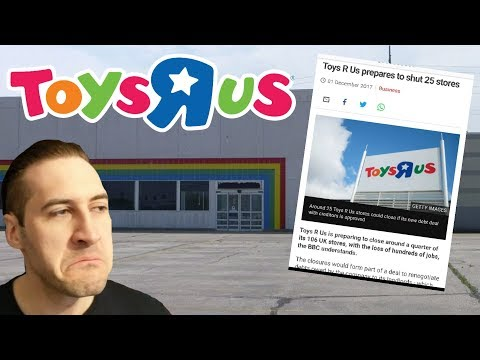 Toys R Us Set To Close 25% Of All UK Stores?!?! (BBC Report)