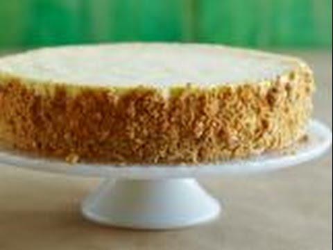 Alton Brown's Sour Cream Cheesecake | Food Network