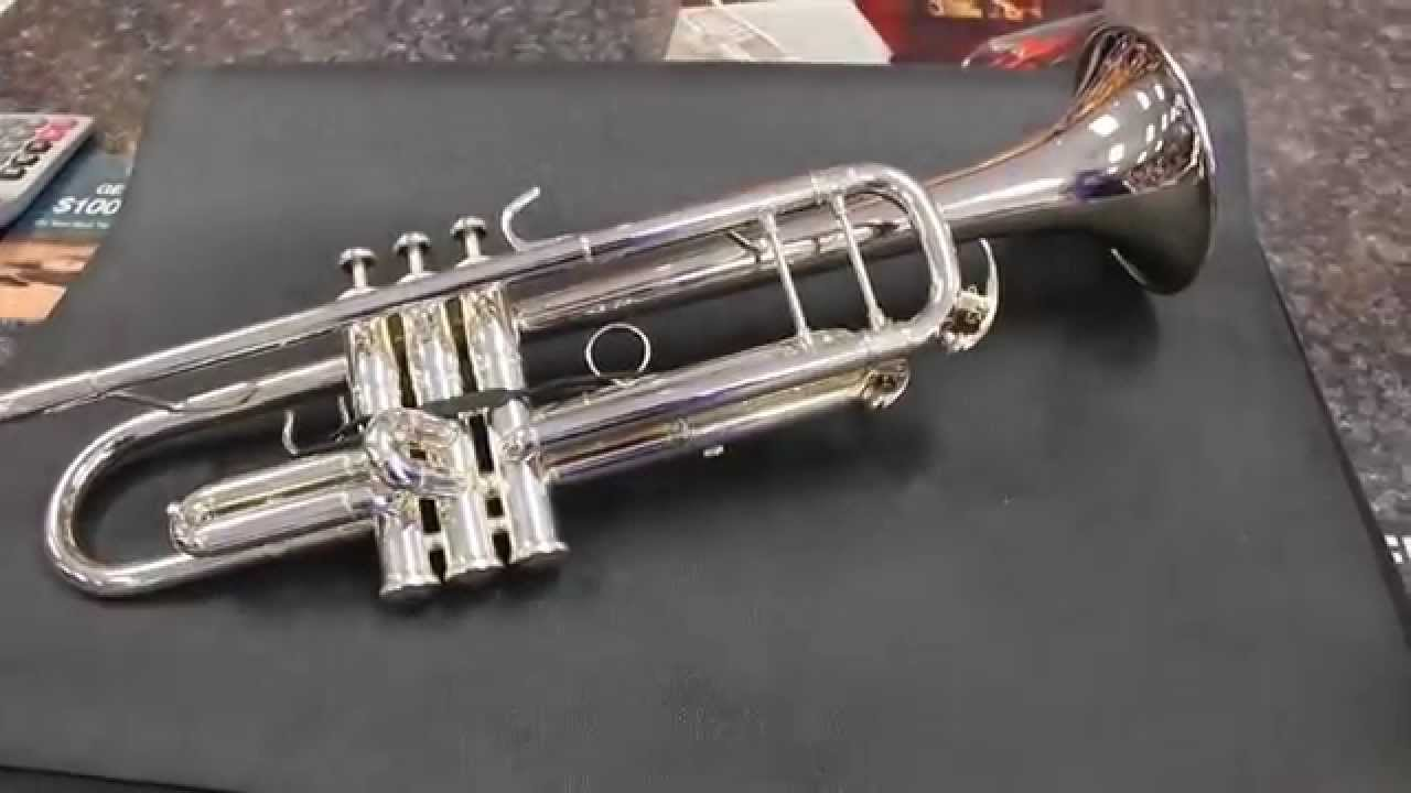 Mint Yamaha YTR8335GSii (2014) Silver-Plated Xeno Bb Trumpet Gold Brass Bell